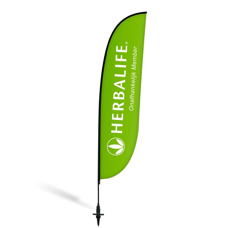 "Beachflag ""Herbalife Lifestyle"""