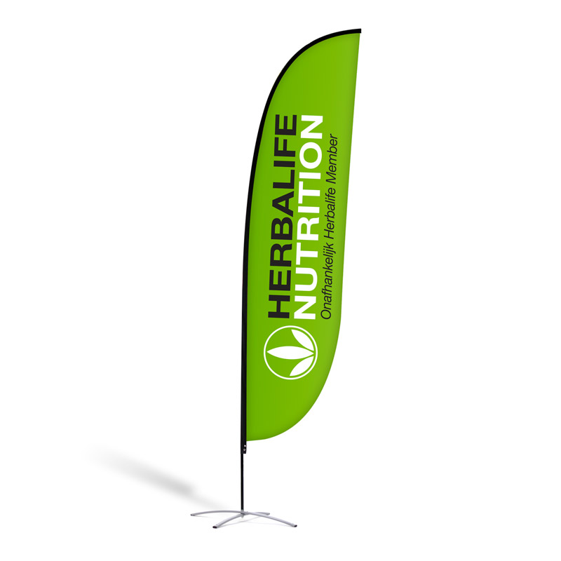 "Beachflag ""Herbalife Nutrition Green"""