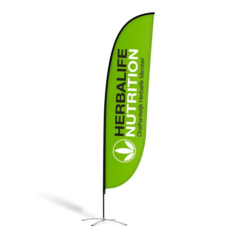 "Beachflag ""Herbalife Nutrition Green"""