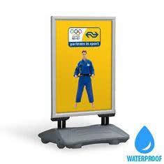 Stoepbord Deluxe Silver Waterproof
