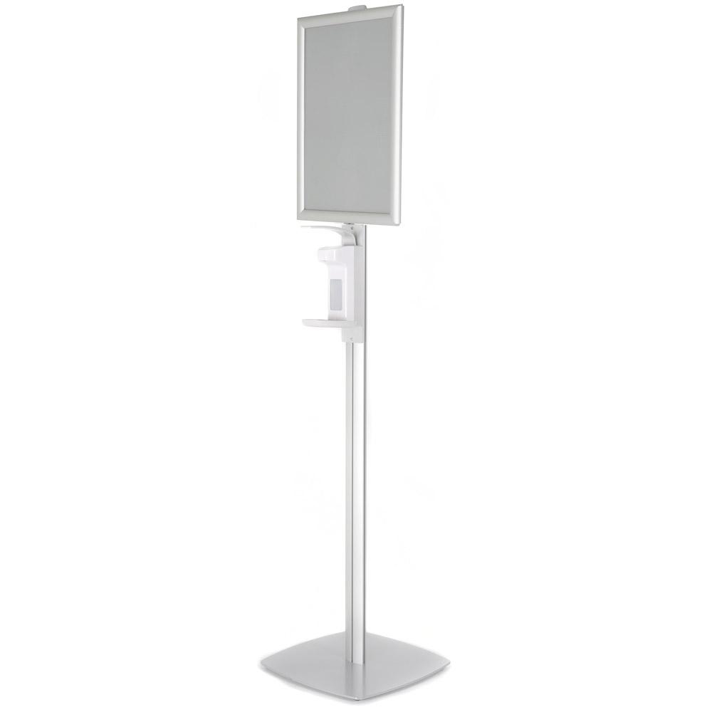 Desinfectiepaal Dispenser met Kliklijst A3