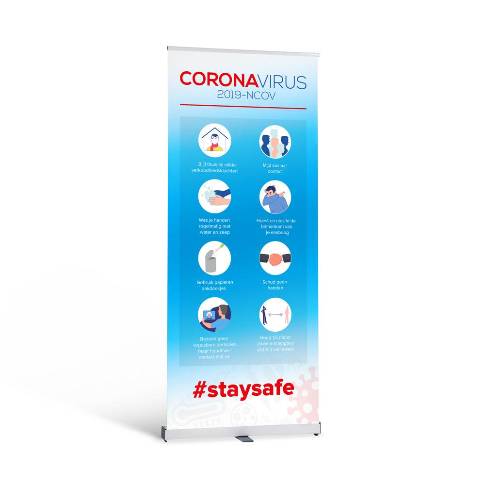 Corona Roll-Up Banner