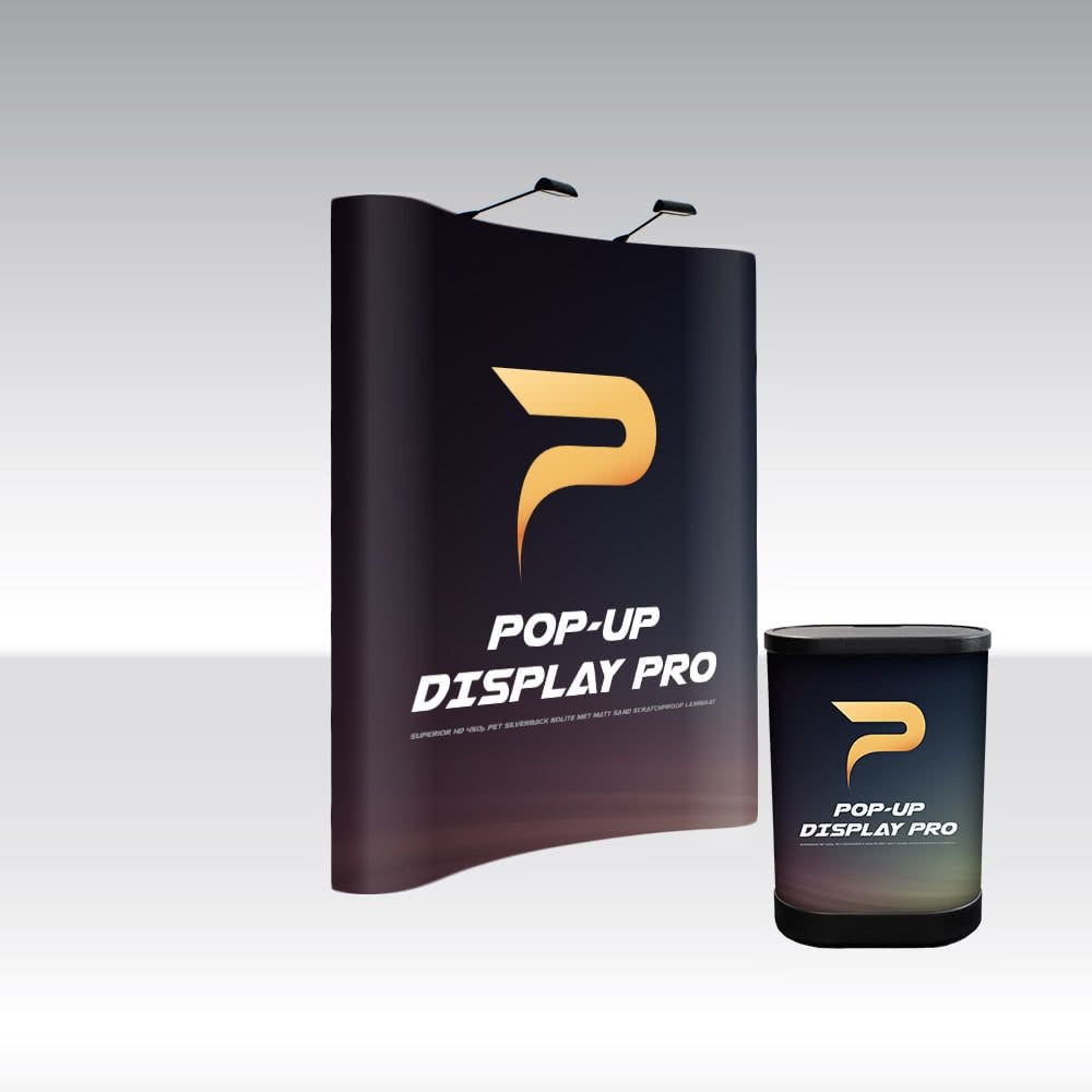 Pop-Up Display PRO 2x3 Curved