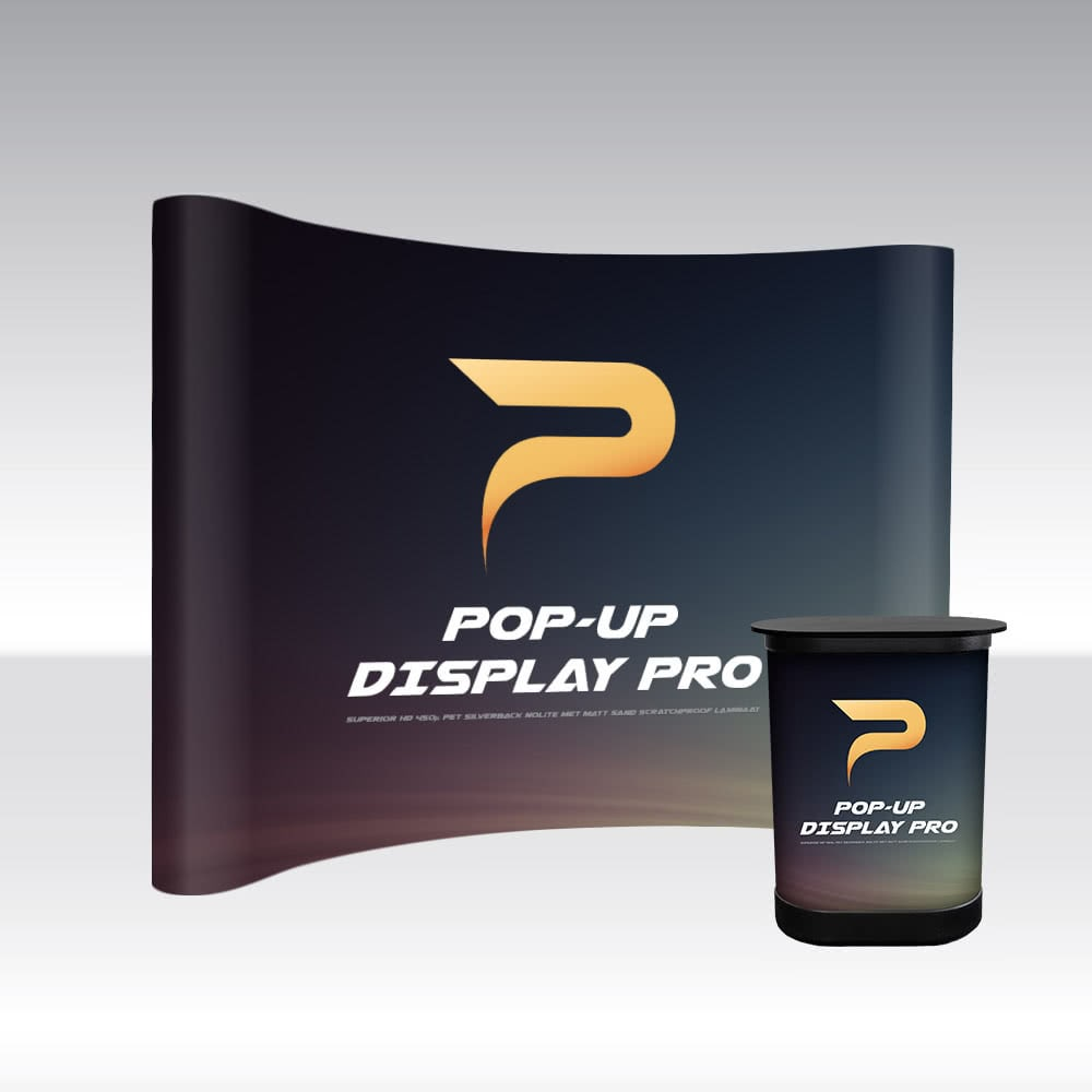Pop-Up Display PRO 4x3 Curved