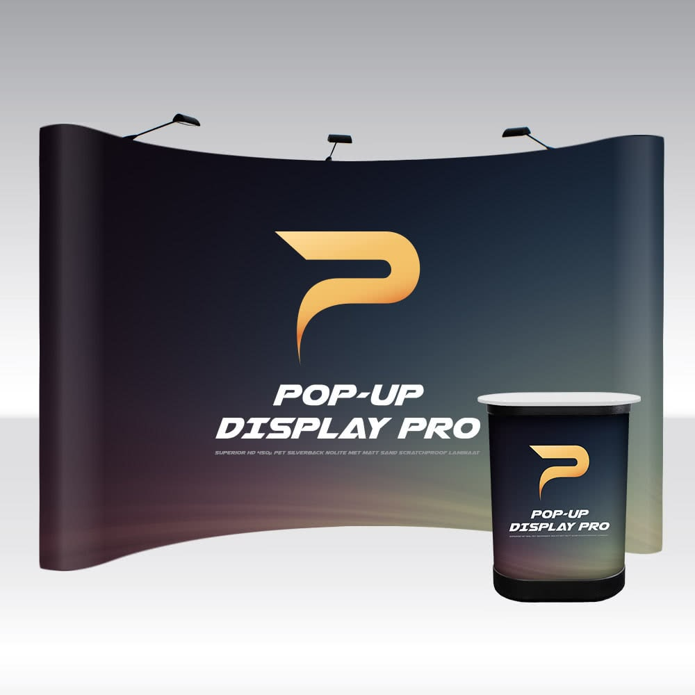 Pop-Up Display PRO 5x3 Curved