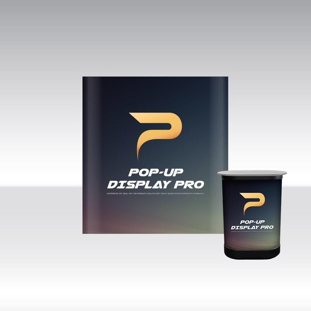 Pop-Up Display PRO 2x3 Straight
