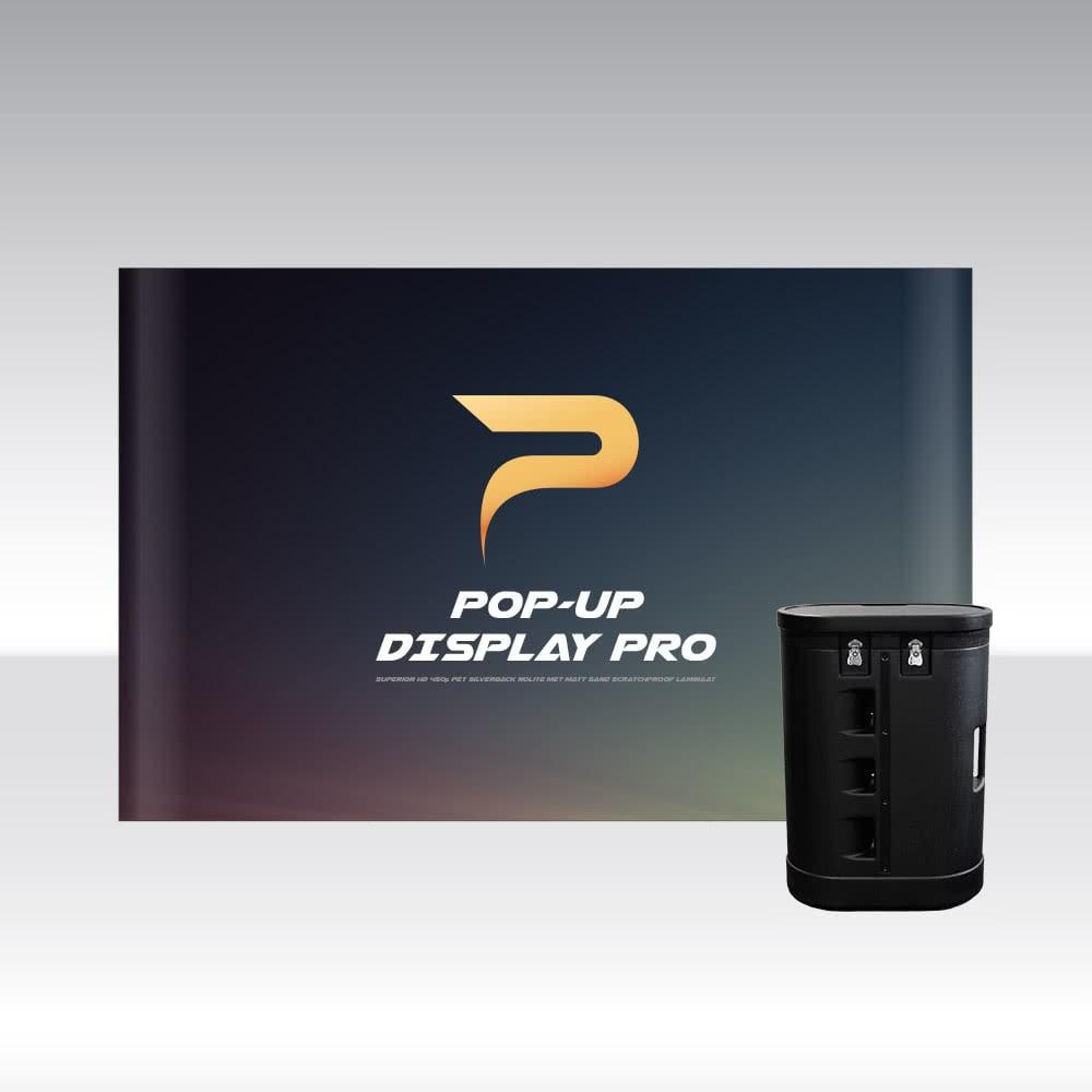 Pop-Up Display PRO 4x3 Straight