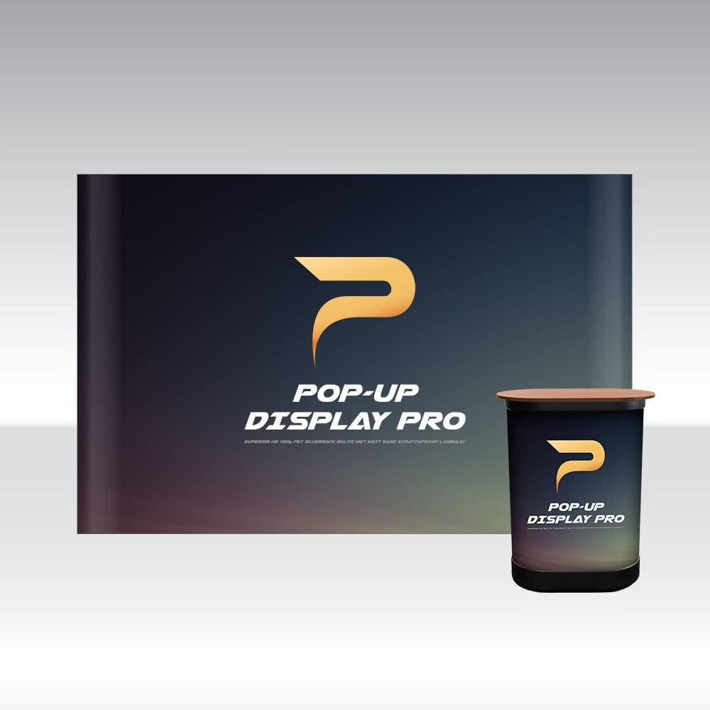 Pop-Up Display PRO 4x3 Straight