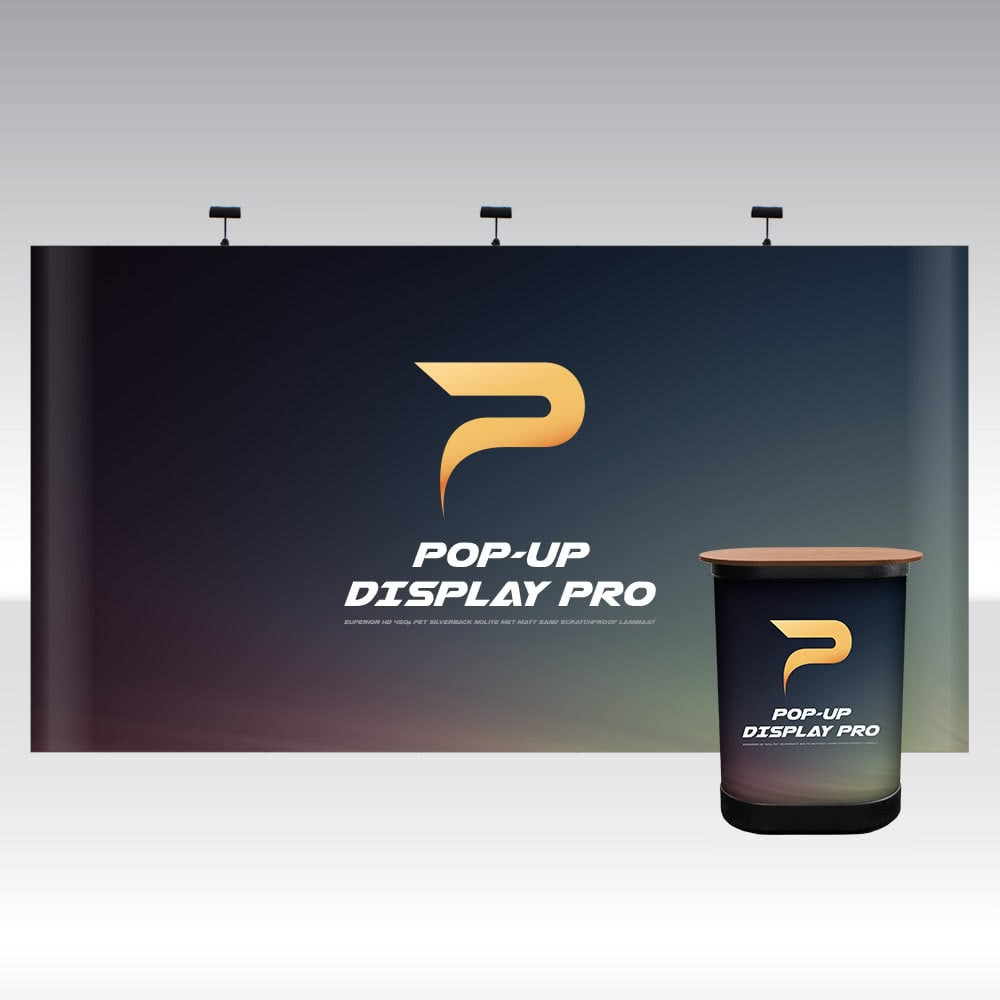 Pop-Up Display PRO 5x3 Straight