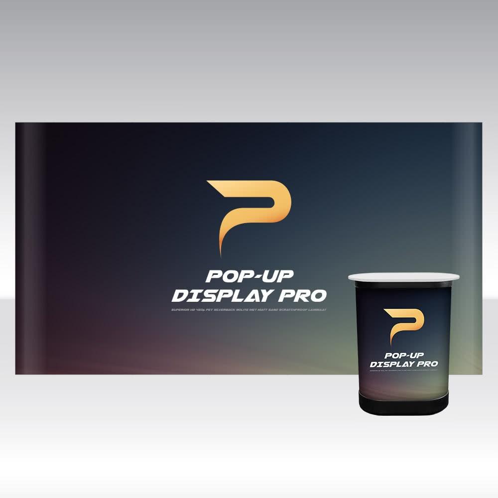 Pop-Up Display PRO 5x3 Straight