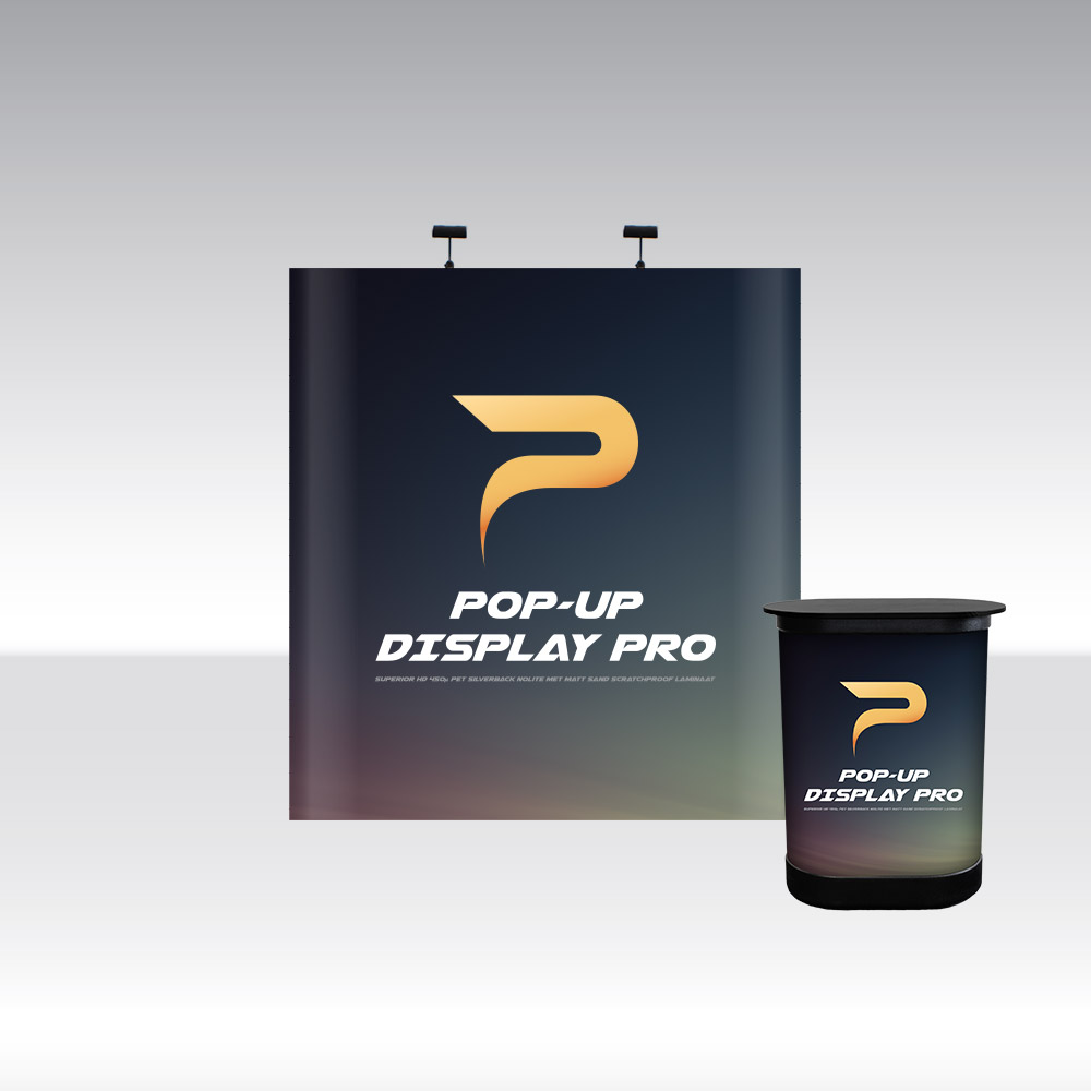 Pop-Up Pro Displays 2x3 Straight