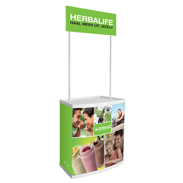 "Counter ""Herbalife Lifestyle"""