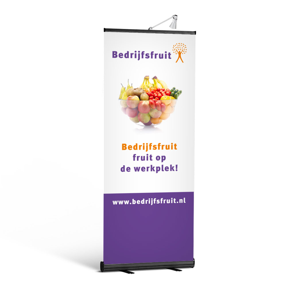 Roll-Up Banner Quickstand