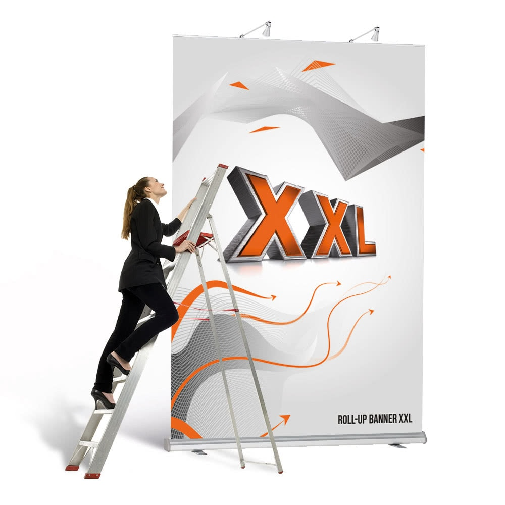 Roll-Up Banner/Wand XXL