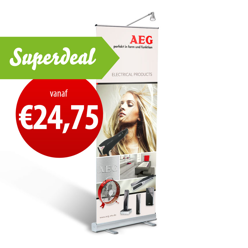 Roll-Up Banner Quickstand Basic