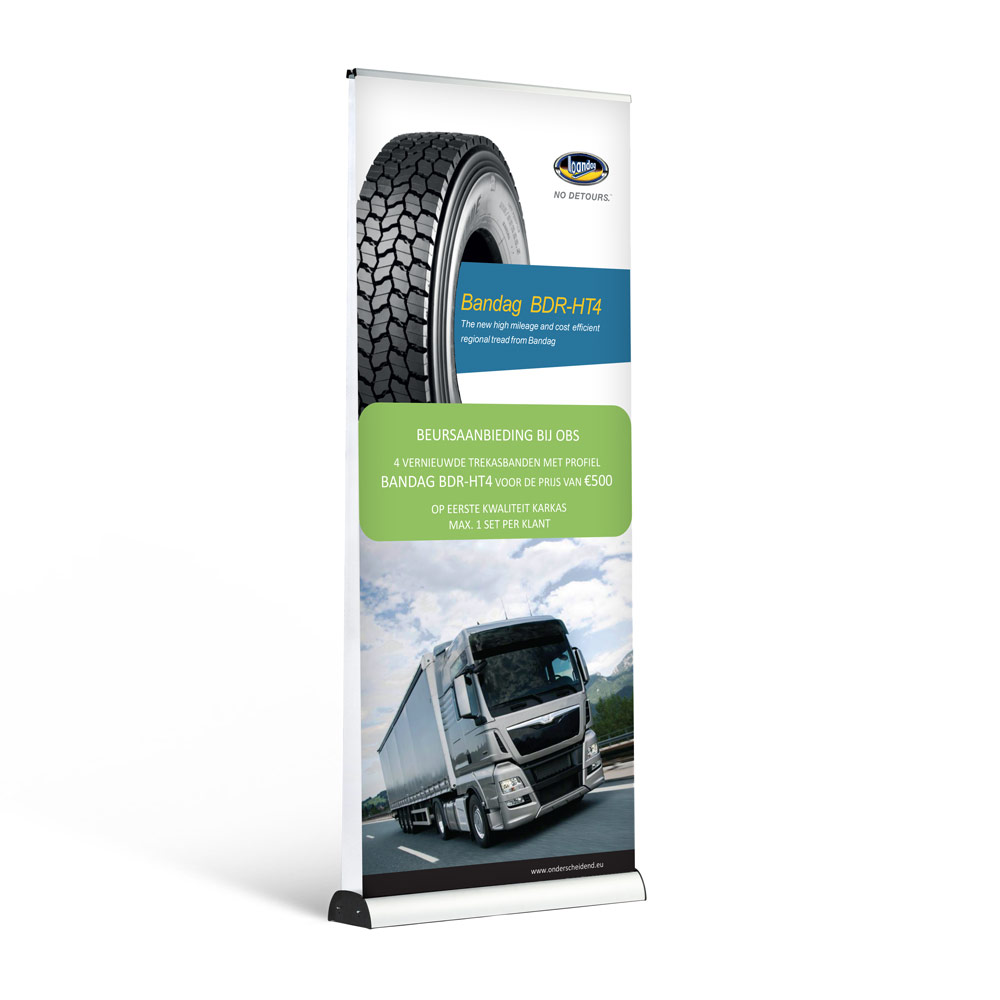 roll-up banner double indoor