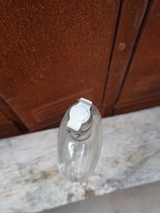 Platte fles