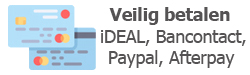 iDEAL,Paypal,Bancontact,Afterpay,betaalmethodes