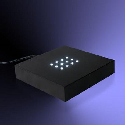 Sokkel met 12 witte LED\'s
