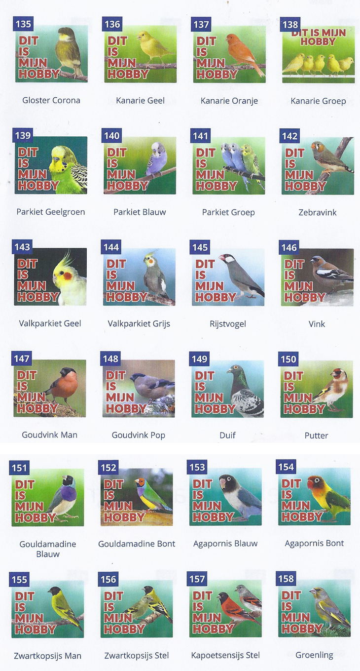 Waakborden vogels
