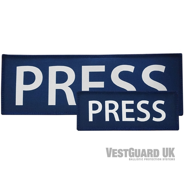 badge PRESS borst & rug
