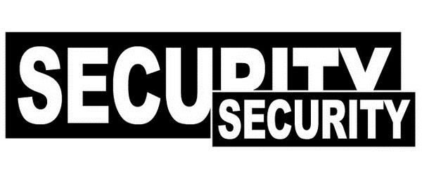 badge SECURITY borst & rug