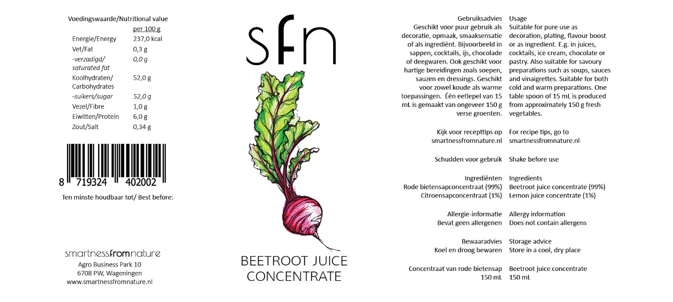 Beetroot Juice Concentrate