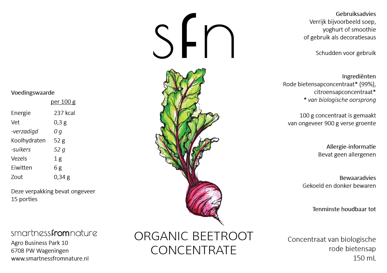 Organic Beetroot Concentrate