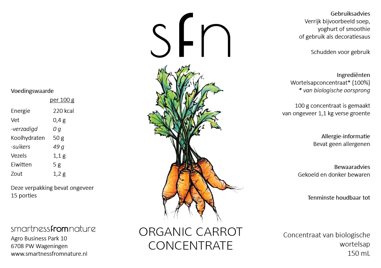Organic Carrot Concentrate