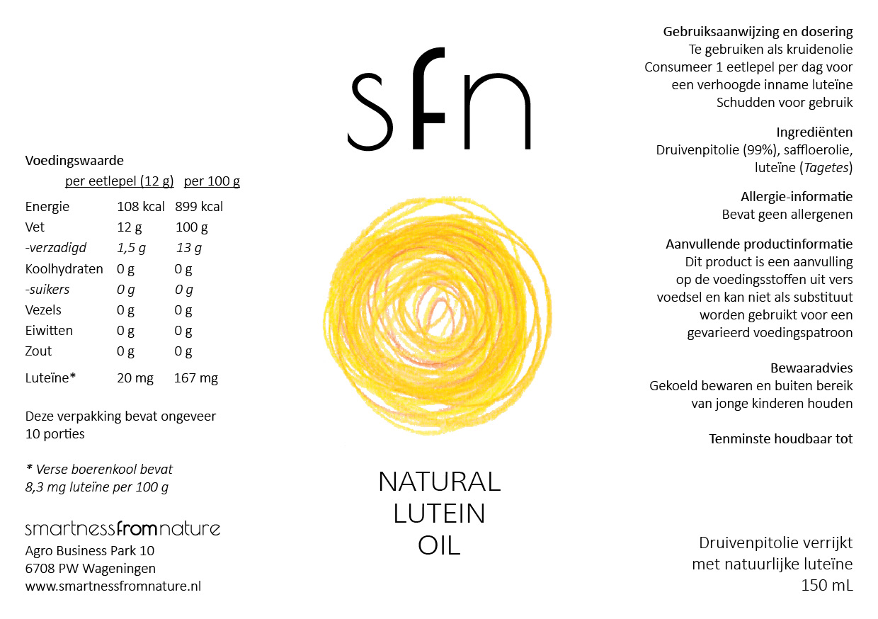 Natural Lutein Oil