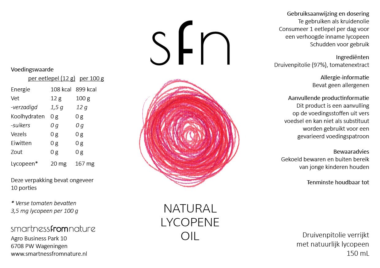 Natural Lycopene Oil