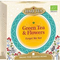 Green Tea & Flowers