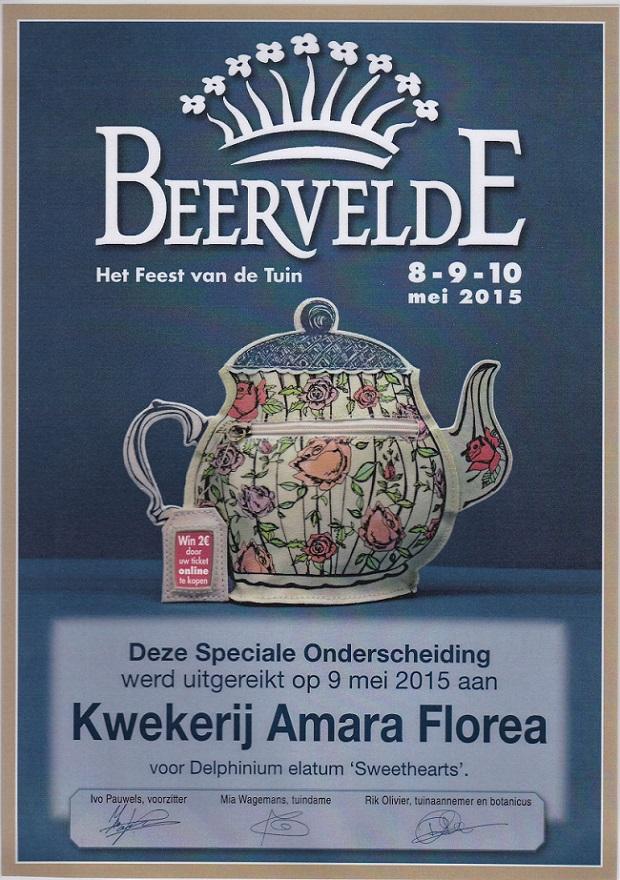 1e prijs Beervelde