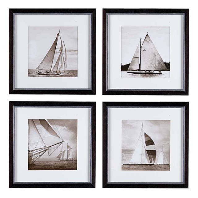 Eichholtz Prints Michael Kahn Boat Set Of 4
