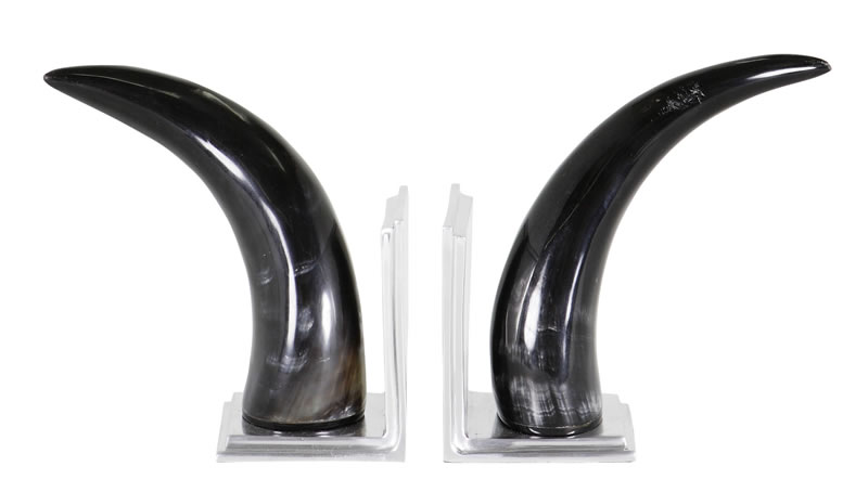 Eichholtz Book End Horn Set Of 2