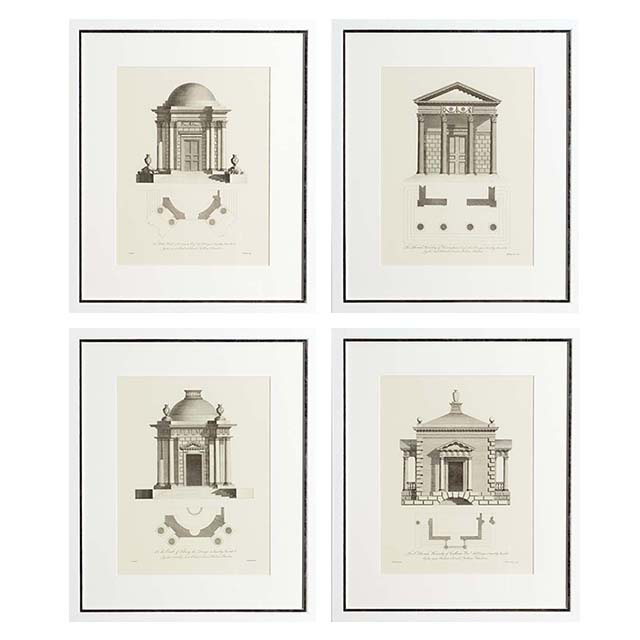 Eichholtz Prints Architecture Set Of 4