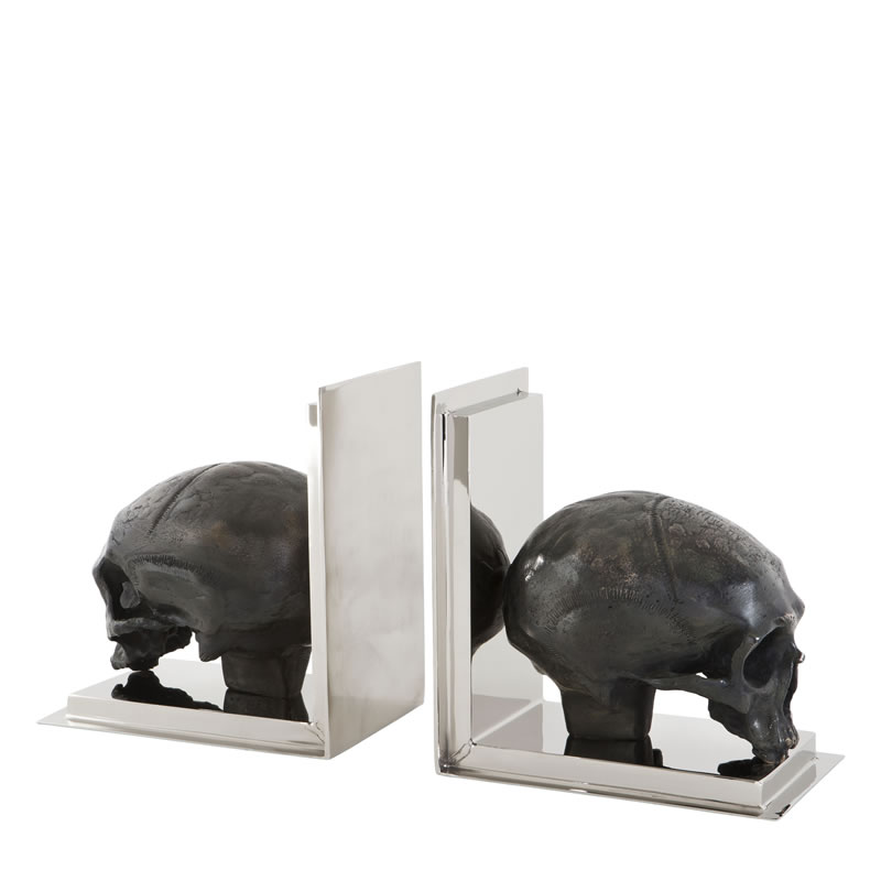 Eichholtz Book End Skull Set Of 2