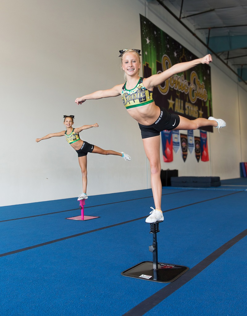 Acro & cheerleading - wobble