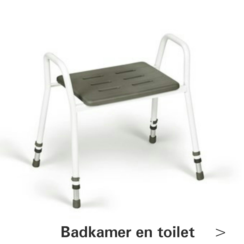 Badkamer en toilet hulpmiddelen