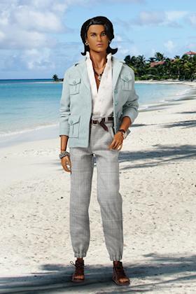 Cool Breeze Dalpinder Chowdhury™ Fashion Figure