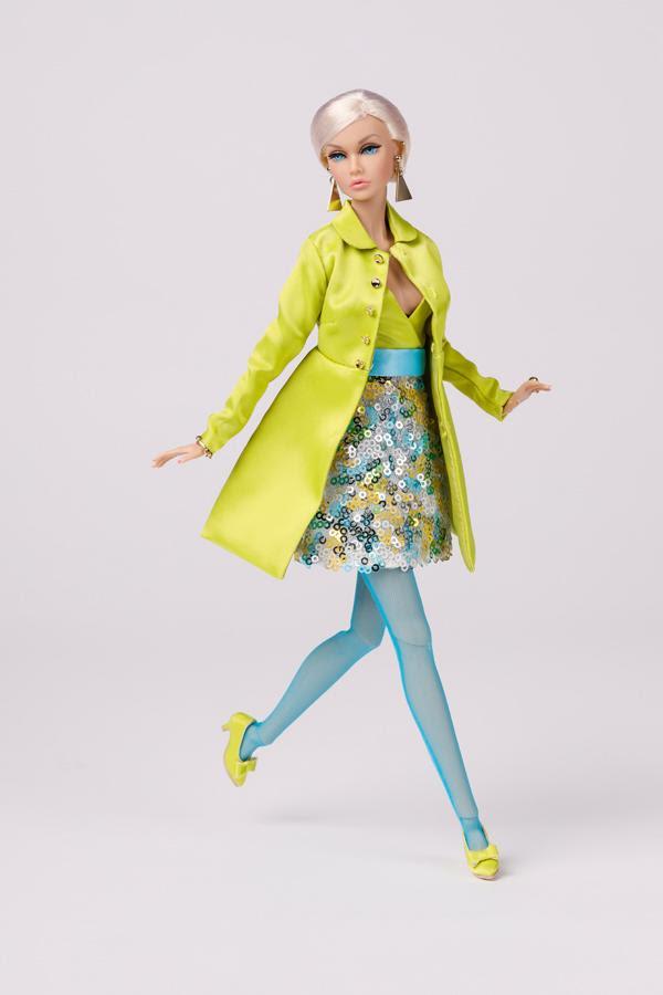 Poppy Parker Lime Time Fashion Style Lab Fashion Week