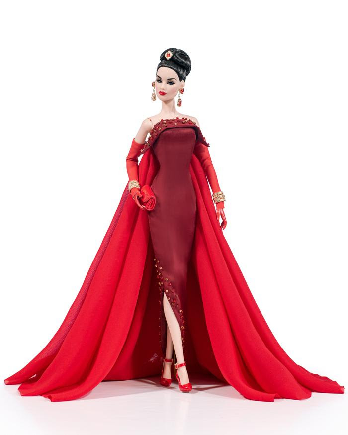 East 59th Evelyn Weaverton Red Hot Dressed Doll