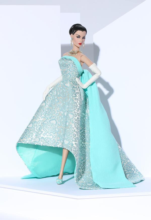 Turquoise Sparkler Evelyn Weaverton® Doll