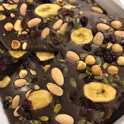 Breekchocolade Notenmix Puur (1000 gram)