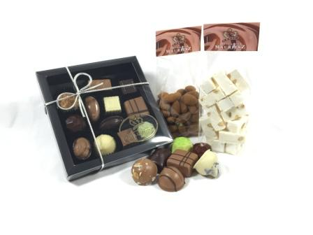 Chocolade verwenpakket (bonbons, noten en nougat)