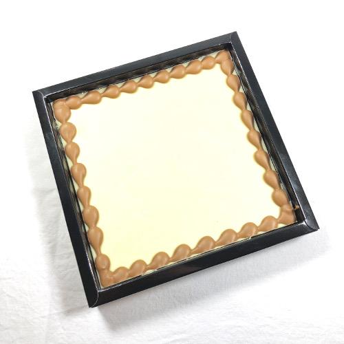 Tablet Wit 400 gram met uw eigen tekst op chocolade! Maximaal 40 karakters.