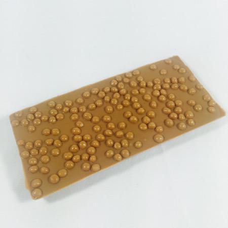 Chocolade reep - tablet melk karamel zeezout (120 gram)