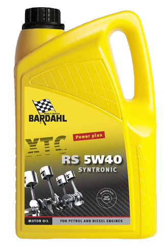 XTC Engine Oil RS 5W40 Syntronic