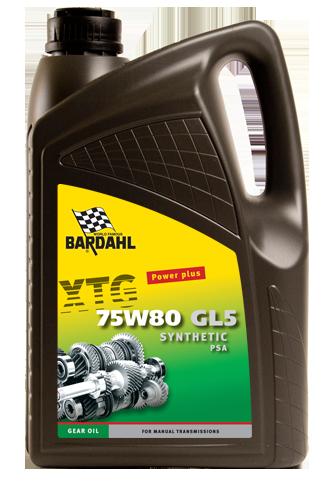 XTG Gear Oil 75W80 PSA