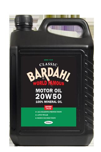 Bardahl Classic 20W50 motorolie